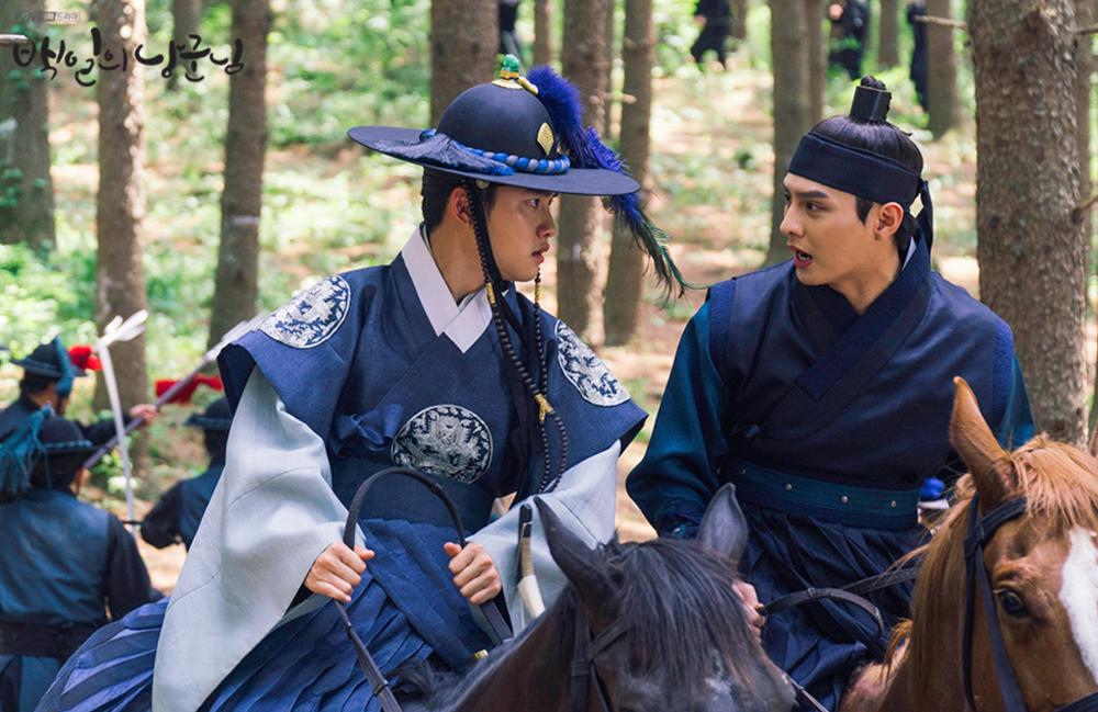 「100日の郎君様」ユルとトンジュ