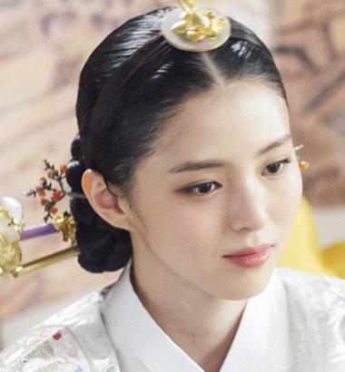 「100日の郎君様」世子嬪役のハン・ソヒ