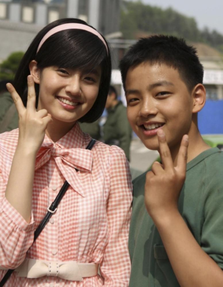 子役時代のナム・ジヒョンとヨ・ジング
