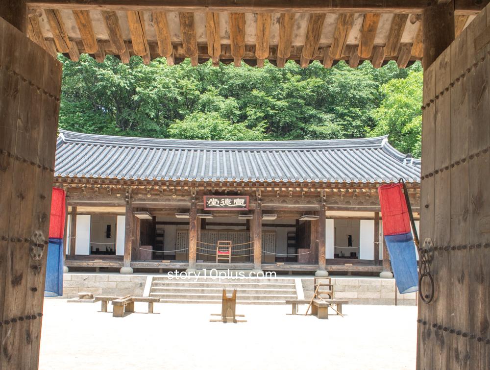韓国民俗村ロケ地巡り